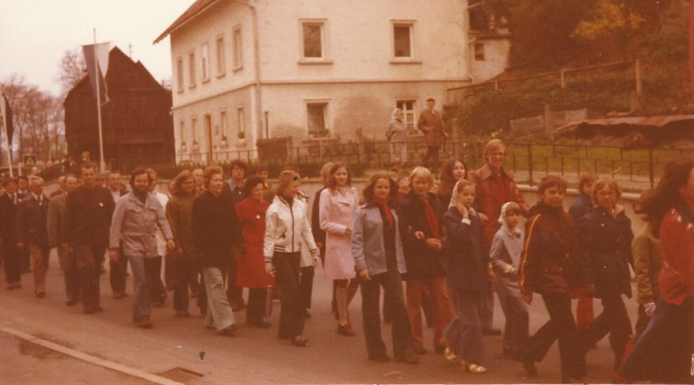 Unterbezirkstreffen in Bad Berneck 1975